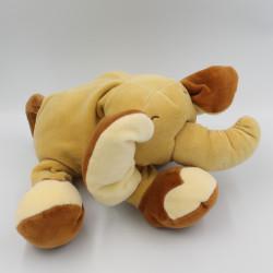 Doudou éléphant marron...