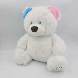 Peluche ours blanc lumineux musical SPLASH TOYS