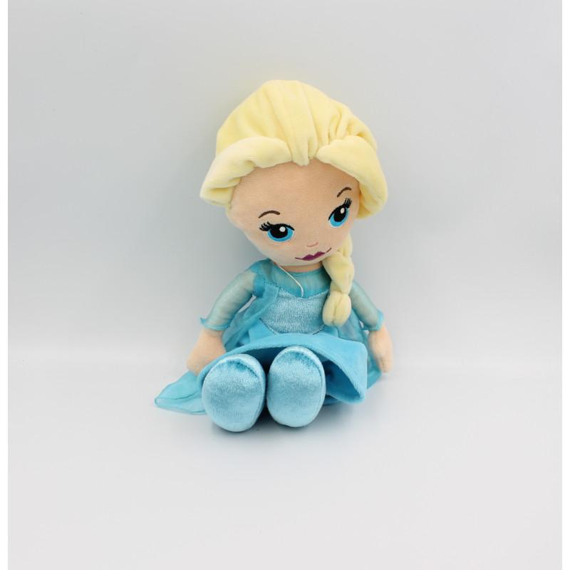 Peluche Elsa La Reine des Neiges Frozen DISNEY PTS
