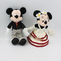 Peluche Minnie et mickey mariés mariage DISNEYLAND