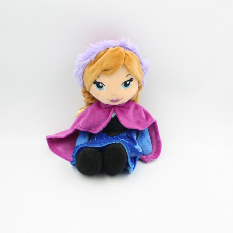 Peluche Anna La Reine des Neiges Frozen DISNEY NICOTOY