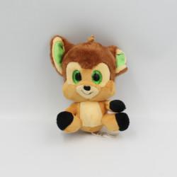 Doudou Peluche Bambi yeux brillant DISNEY NICOTOY