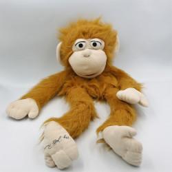Peluche marionnette ventriloque Jean Marc Jeff Panocloc 55 cm