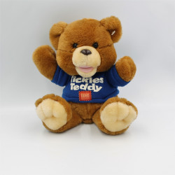 Peluche sonore ours marron TICKLES TEDDY NICOTOY