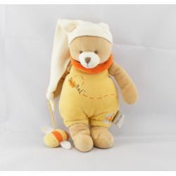 Doudou ours jaune avec abeille BABY NAT