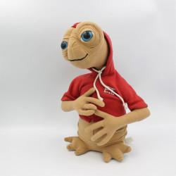 Peluche E.T. l' extra terrestre sweat rouge UNIVERSAL STUDIOS 30 cm