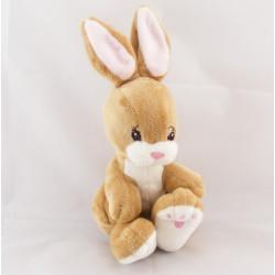 Doudou lapin beige rose H ET M H.M
