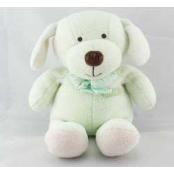 Doudou chien Luminou vert JEMINI