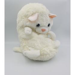 Peluche Cali Pets chat blanc DUJARDIN JAY AT JAY