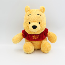 Peluche Winnie l'ourson pull rouge DISNEY NICOTOY