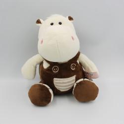 Doudou hippopotame blanc marron MORBIDELLI