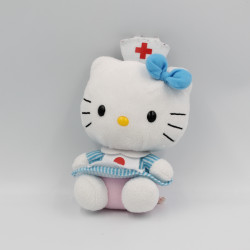 Peluche chat HELLO KITTY infirmiére SANRIO LICENSE