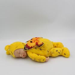Poupée papillon jaune ANNE GEDDES 30 cm