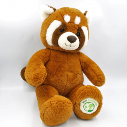 Grande Peluche panda roux Wild DISCOVERY GIPSY