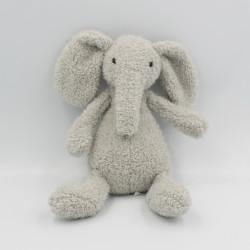 Doudou peluche éléphant gris JELLYCAT 25 cm