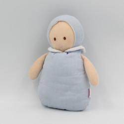 Doudou lutin poupée bleu Joséphine JACADI
