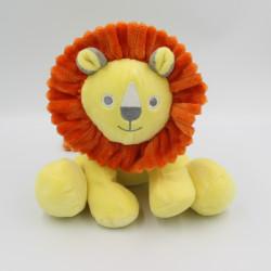 Doudou lion jaune orange HEMA
