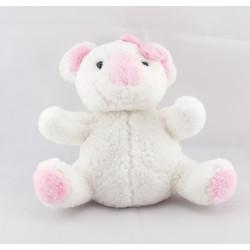 Doudou Koala blanc rose bébisol Lot de 2