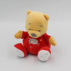 Petit doudou Winnie rouge mouton DISNEY BABY