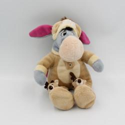 Doudou Bourriquet déguisé en renne Noël Collection Disney