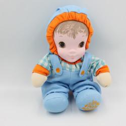 Ancienne Poupée bleu orange Jammie Pies Les petits bonheurs PLAYSKOOL 1987 Rare