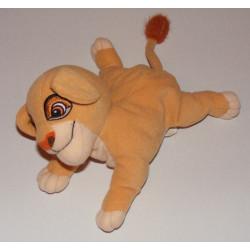 Doudou le roi lion Simba couché JEMINI