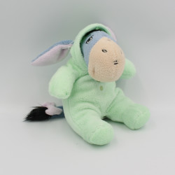 Doudou Bourriquet en pyjama vert Disney 20 cm
