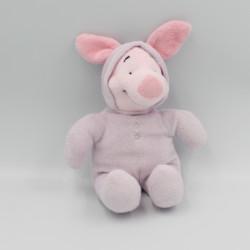 Doudou cochon Porcinet en pyjama mauve DISNEY NICOTOY 23 cm