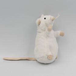 Petit Doudou souris rat blanc IKEA