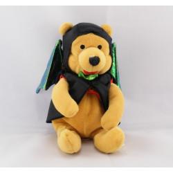 Peluche Winnie citrouille Halloween Collection Disney
