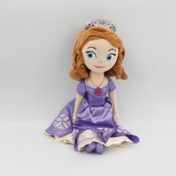 Peluche princesse Sofia robe mauve DISNEY PARKS