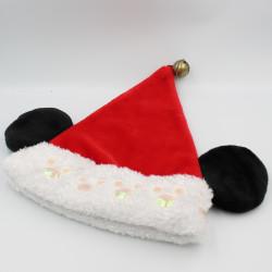 Bonnet rouge Noël Mickey...