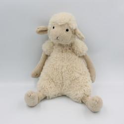 Doudou peluche agneau mouton beige blanc JELLYCAT