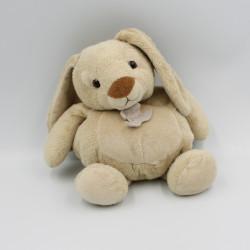 Doudou lapin beige HISTOIRE D'OURS 23 cm