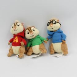 Mini Peluche écureuil Alvin et les Chipmunks FOX