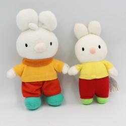 Petit doudou petit lapin blanc HACHETTE