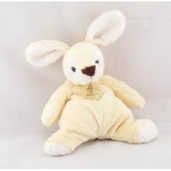 Doudou lapin blanc écru DOUDOU ET COMPAGNIE