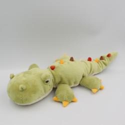 Doudou peluche crocodile vert HAPPY HORSE