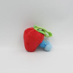 Doudou fraise avec chenille LATITUDE