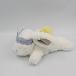 Doudou et compagnie lapin blanc bleu jaune bandeau Atawa Tutti Frutti