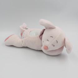 Doudou veilleuse souris rose étoiles Mia NOUKIE'S