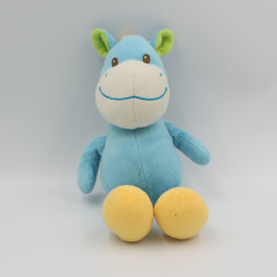 Doudou ane cheval bleu BAMBIA