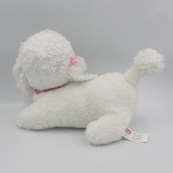 Ancienne Peluche chien caniche blanc Puppy Surprise HASBRO