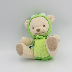 Doudou nature bearries ours grenouille  FISHER PRICE