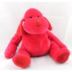 Doudou chien rouge DOUGLAS