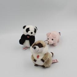 Mini peluches cochon raton...