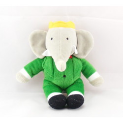 Peluche Babar l'éléphant