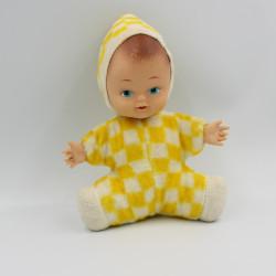 Ancienne poupée jaune BERGERE DE FRANCE