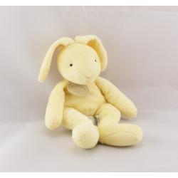 Doudou lapin blanc orange BABY NAT