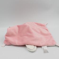 Doudou plat lapin blanc rose Tu es Ma Princesse SIMBA TOYS NICOTOY